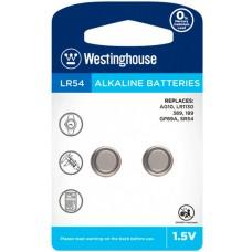 Лужна батарейка Westinghouse Alkaline LR54 2 шт.