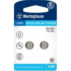 """Лужна батарейка Westinghouse Alkaline """"таблетка"""" LR63 2 шт."""