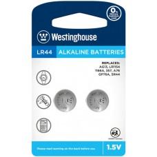 Лужна батарейка Westinghouse Alkaline LR44 2 шт.