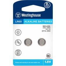 """Лужна батарейка Westinghouse Alkaline """"таблетка"""" LR69 2 шт."""