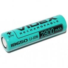 Акумулятор Videx Li-Ion 18650 2800mAh