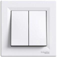 Вимикач 2кл Asfora білий EPH0300121 Schneider Electric