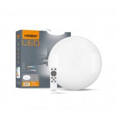 LED світильник функціональний круглий VIDEX STAR 72W 2800-6200K