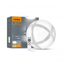 LED світильник функціональний круглий VIDEX GLANZ 72W 2800-6200K