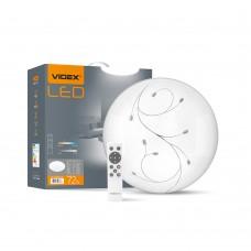 LED світильник функціональний круглий VIDEX DROP 72W 2800-6200K