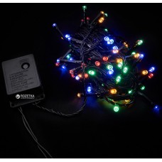 Світлодіодна гірлянда DELUX String Multicolor 5m